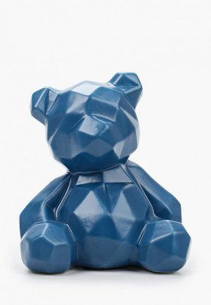 Фигурка декоративная Mandarin Decor Мишка. Цвет: синий