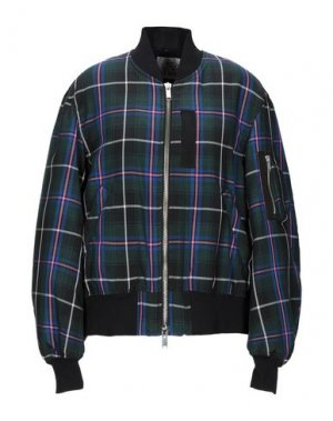 Куртка ATTIC AND BARN. Цвет: темно-зеленый