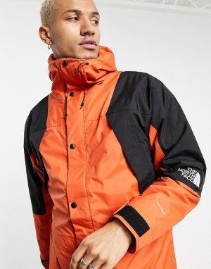Оранжевая утепленная куртка Mountain Light Dryvent-Коричневый The North Face