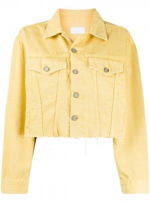 Джинсовая куртка Harvey BOYISH DENIM. Цвет: желтый