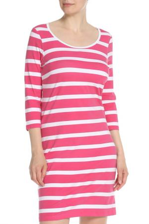 Платье UNQ. Цвет: бордовый, белый