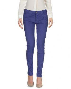 Повседневные брюки ATOS LOMBARDINI. Цвет: фиолетовый