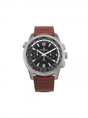 Наручные часы Polaris Chronograph WT pre-owned 44 мм 2021-го года Jaeger-LeCoultre. Цвет: черный