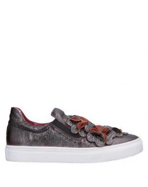 Низкие кеды и кроссовки AURORA. Цвет: свинцово-серый