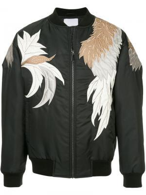 Куртка-бомбер с вышивкой Ports V