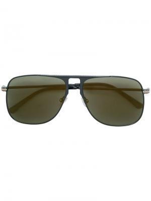 Солнцезащитные очки Dan 60 Jimmy Choo Eyewear. Цвет: черный