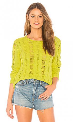 Пуловер ramona Lovers + Friends. Цвет: желтый