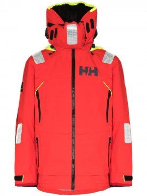 Куртка Aegir Race с капюшоном Helly Hansen. Цвет: красный