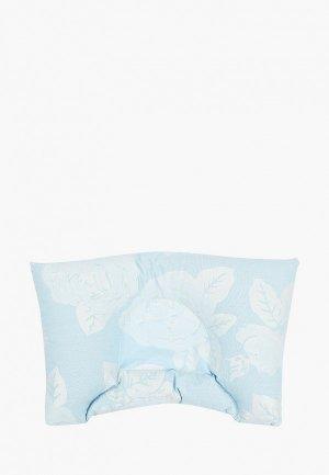 Подушка Shining Star для младенца, 30х20 см. Цвет: голубой