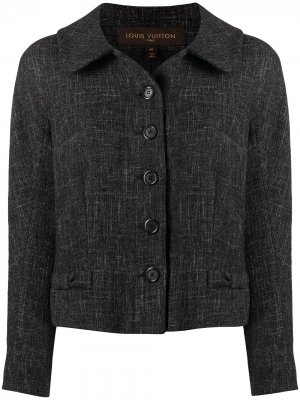 Жакет на пуговицах Louis Vuitton. Цвет: серый