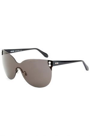 Солнцезащитные очки Moschino. Цвет: черный