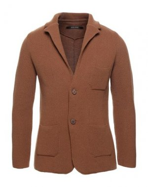 Пиджак ALBARENA. Цвет: коричневый