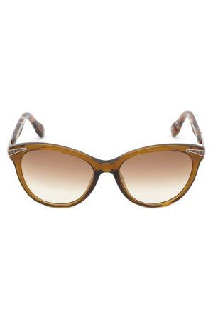 Солнцезащитные очки Carolina herrera NEW YORK. Цвет: зеленый