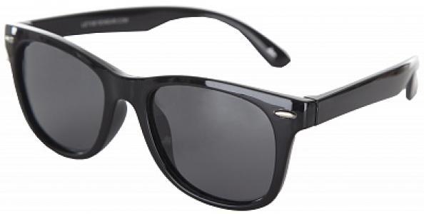 Солнцезащитные очки детские Leto. Цвет: черный