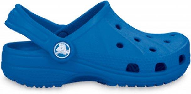 Шлепанцы для мальчиков Ralen Clog K, размер 33-34 Crocs. Цвет: синий