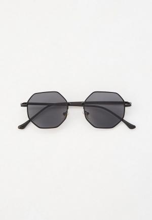 Очки солнцезащитные Jeepers Peepers. Цвет: черный
