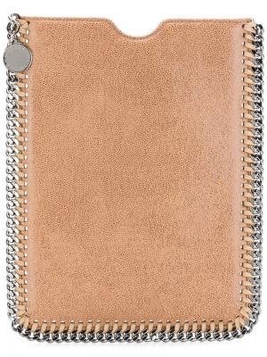 Чехол для планшета Falabella Stella McCartney. Цвет: коричневый
