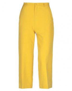 Брюки-капри LIU •JO. Цвет: желтый