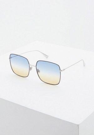 Очки солнцезащитные Christian Dior DIORSTELLAIRE1 84J. Цвет: серебряный