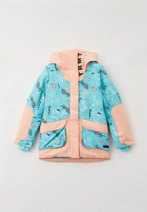 Куртка сноубордическая Termit. Цвет: бирюзовый