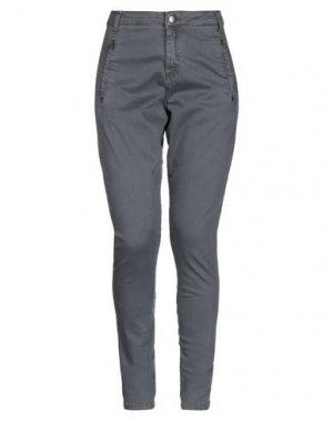 Джинсовые брюки FIVEUNITS. Цвет: серый