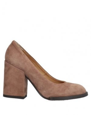 Туфли ALBERTO FERMANI. Цвет: коричневый