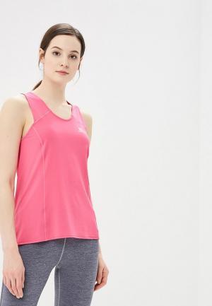 Майка спортивная Salomon SA007EWZOS68. Цвет: розовый