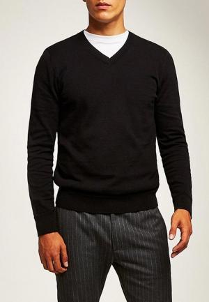 Пуловер Topman. Цвет: черный