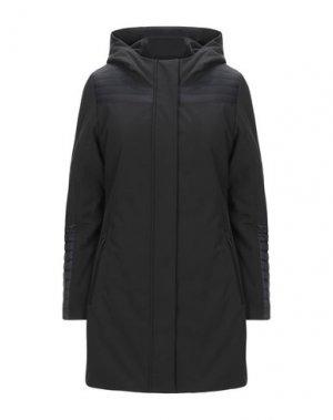 Пальто REFRIGUE. Цвет: черный