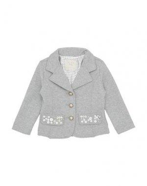 Пиджак ELSY. Цвет: серый