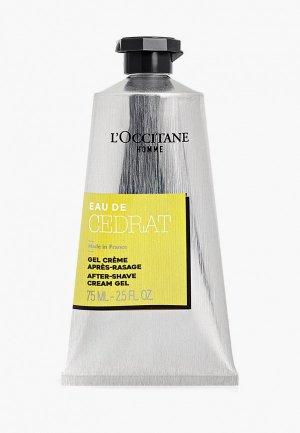 Гель после бритья LOccitane L'Occitane Цедрат 75 мл. Цвет: прозрачный