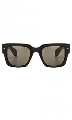 Солнцезащитные очки enzo Jacques Marie Mage. Цвет: черный