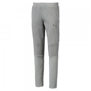 Детские штаны Evostripe Pants PUMA. Цвет: серый