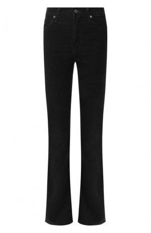 Расклешенные джинсы Citizens Of Humanity. Цвет: чёрный