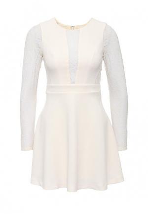 Платье BCBGeneration BC528EWGUO67. Цвет: бежевый