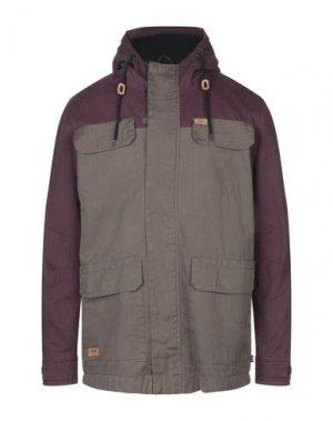 Куртка GLOBE. Цвет: зеленый-милитари