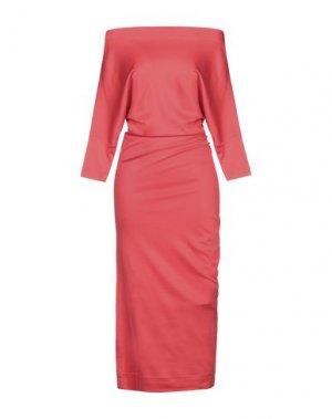 Длинное платье VIVIENNE WESTWOOD ANGLOMANIA. Цвет: красный