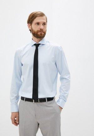 Рубашка Hugo Kery. Цвет: голубой