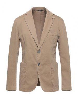 Пиджак EXIGO. Цвет: песочный