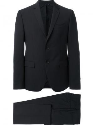 Вечерний костюм-двойка Fendi. Цвет: чёрный
