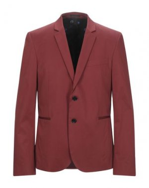 Пиджак PS PAUL SMITH. Цвет: кирпично-красный