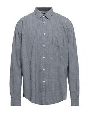 Pубашка BOSS HUGO. Цвет: темно-синий
