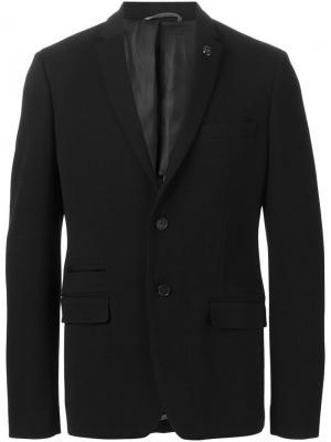 Классический пиджак Michael Kors. Цвет: чёрный