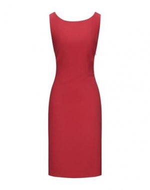 Платье до колена BLACK LABEL. Цвет: красный