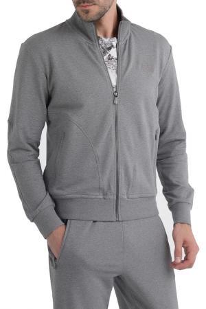 Спортивный костюм CUDGI. Цвет: серый