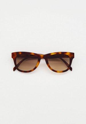 Очки солнцезащитные Karl Lagerfeld KL 6006S 013. Цвет: коричневый
