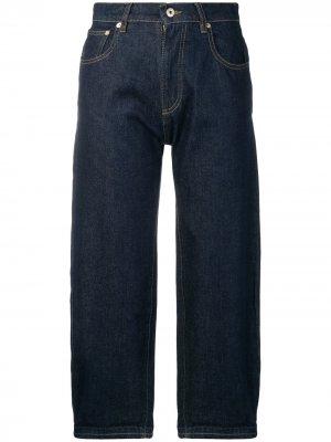 Укороченные джинсы Carven. Цвет: синий