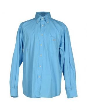Pубашка GERANI. Цвет: лазурный