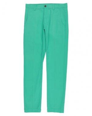 Повседневные брюки BROOKS BROTHERS. Цвет: зеленый