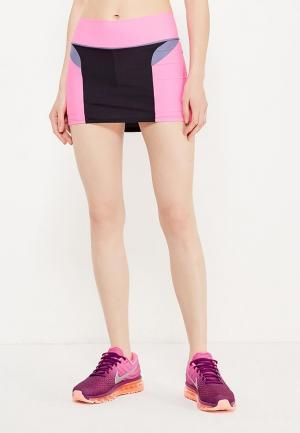 Юбка-шорты Dali. Цвет: разноцветный
